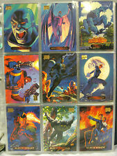 1994 HILDEBRANT BROTHERS-MARVEL MASTER PIECES+COMPLETE-SET PLUS ALL CHASE CARDS