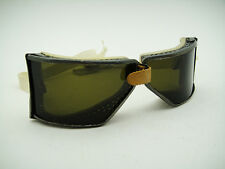 """NOS AMERICAN 40s 50s """"Advance"""" VINTAGE RACER MOTOR CAR RACING GOGGLES MOTORCYCLE"""