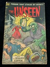 The Unseen #11 (Aug 1953) Pre-Code ✨ Terror That Stalks by Night! ✨ Comic Book