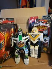 Power Rangers Lot - Mystic fury and Overdirve Morphers, Dragonzord, Megawinger