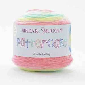 Snuggly Sirdar Pattercake DK 150g cake RRP: £11.00  OUR PRICE: £9.75