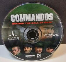 Commandos: Beyond the Call of Duty (PC, 1999) DISC ONLY