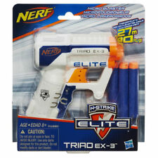 Nerf N-Strike Elite Triad EX-3 - Small and strong! NEW! Includes darts-Fast Ship