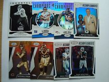 2017 Panini Certified Inserts ~ Refractors ~ #'d ~ Brady ~ Rodgers ~ Pick 10