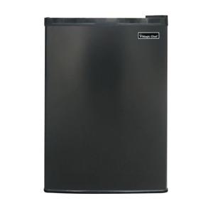 Magic Chef Mini Fridge 2.6 cu. ft. 2-Shelves Adjustable Thermostat Reversible