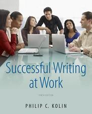 Successful Writing at Work by Philip C. Kolin 10th Edition FREE SHIPPING
