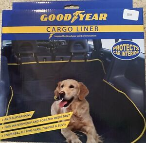 """GOODYEAR Discontinued Cargo Liner For Pets. Black Washable Each 57""""x57"""""""