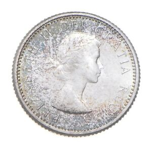 Better Date - 1963 Canada 10 Cents - SILVER *564