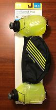 Nathan TrailSpeed Plus Adjustable 2-Bottle Hydration Belt Safety Yellow, New