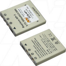 3.7V 800mAh Replacement Battery Compatible with Konica Minolta NP-1