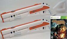Cabela's Dangerous Hunts 2011 XBox 360 Game Set 2 NEW GUNS Shotgun Rifle hunting