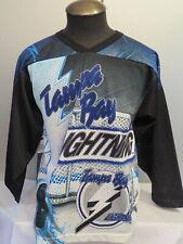 Tampa Bay Lightning Jersey - CCM Fanimation Dual Graphic - Men's Small - Rare