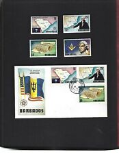 Barbados sc#440-3 (1976) Complete MLH + FDC