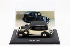 1:43 IXO & ALTAYA - Mercedes-Benz 260 D 1936