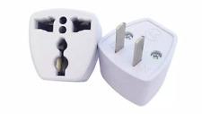 AC Electrical Power UK AU EU To US Plug Adapter Converter USA Universal Power Pl