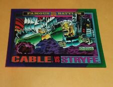 Cable vs Stryfe # 146 1993 Marvel Universe Series 4 Base Trading Card