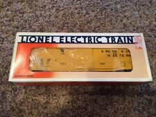 Lionel 6-15003 O/O-27 Green Bay & Western Waffle Side Box Car NOS