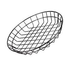 Burger Chip Basket Food Snacks Presentation Basket Metal Fast Food Basket L