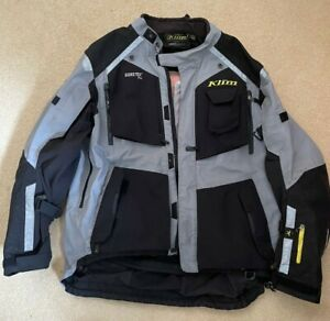 Klim Badlands Gore-tex pro Adventure touring jacket in grey