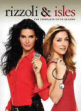 Rizzoli  Isles: The Complete Fifth Season (DVD, 2015, 4-Disc Set) new