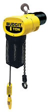 Budgit ManGuard BEHC 1/2 ton Electric Chain Hoist 15 ft. Lift 460-3-60