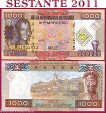 GUINEA  -  1000 1.000 FRANCS 1.3. 2010  -   Commemorative   -  P 43  - FDS / UNC