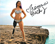 Brenna Huckaby Sports Illustrated Swimsuit Model Signed 8X10 Photo W/Coa