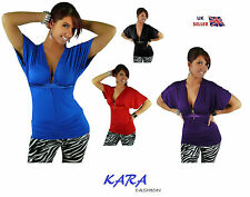 Unbranded Cotton Party Short Sleeve Tops & Shirts for Women