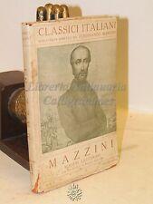 CLASSICI ITALIANI NARRATIVA  Mazzini: Scritti letterari - Disegni di Cambellotti