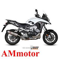Auspuff Motorrad Mivv Honda Crossrunner 2015 15 Endtopf Oval Titanium Carbon Cap