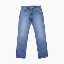 Levis 511 Mens Classic Slim Fit Washed Blue Cotton Denim Jeans Waist 32 Leg 32