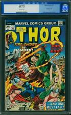 THOR 223 CGC 9.6 OFF WHITE PAGES BONDAGE OLD SCHOOL LABEL FIRESWORD CLASSIC BOOK