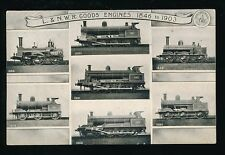 Railway L&NWR Goods Engines 1846-1903 used 1906 Official M/view PPC