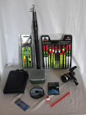 CHILDRENS FISHING / ANGLING SET - ROD REEL BAG FLOATS & TACKLE SET STARTER SET