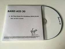 Band Aid 30 1trk PROMO CD Do They Know It's Christmas? ED SHEERAN QUEEN ETC
