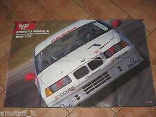 # POSTER ROBERTO RAVAGLIA BMW 318I CAMPIONE ITALIANO SUPERTURISMO 1993 AA2