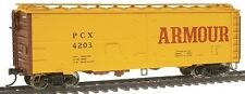 HO Walthers 40' Meat Reefer car Armour 932-2583