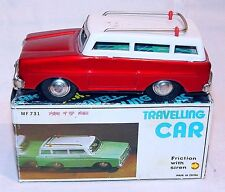 China MF-731 FORD FAIRLANE `65 FAMILY ESTATE WAGON Car Tin Friction MIB`80 RARE!