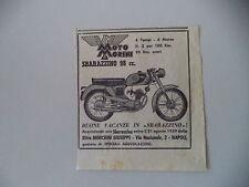 advertising Pubblicità 1959 MOTO MORINI SBARAZZINO 98