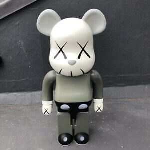 KAWS Be@rbrick Medicom toy figure - 1000% grey 2002 Bearbrick