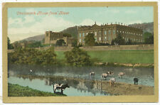 Chatsworth House from River