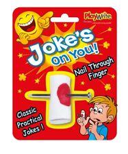 Joke's On You! Ongles A Travers Doigt - Classique Farce Nouveauté Tour Blague