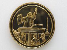 1973 Jonathan Mayhew Sermon in Boston 1750 GP Silver Medal Royal Mint D8543