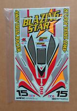RC Tamiya Decal 58204 Blazing Star NEU NIB 1997