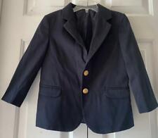Izod Boys Navy Blue Formal Suit Blazer Jacket Sport Coat School Uniform Size 6