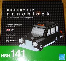 Taxi of London Nanoblock Micro-sized building block construction toy NBH141
