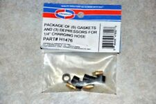 Refrigeration Hose Replacement Gaskets & Depressors For 1/4 Charging Hoses H1476