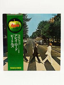 LP Record VINILO The Beatles Abbey Road Apple Records AP-8815 Disco Rojo Japon
