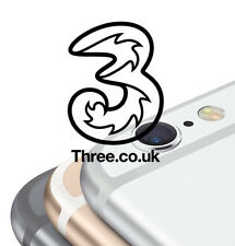 100% FACTORY UNLOCKING Three 3 UK Hutchison iPhone 7 SE 6S 6 5S 5 4S 4 Official