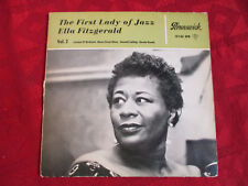 "EP 7"" 45rpm ELLA FITZGERALD The First Lady of Jazz Vol. 2 // Orig 1st/p GER 1963"